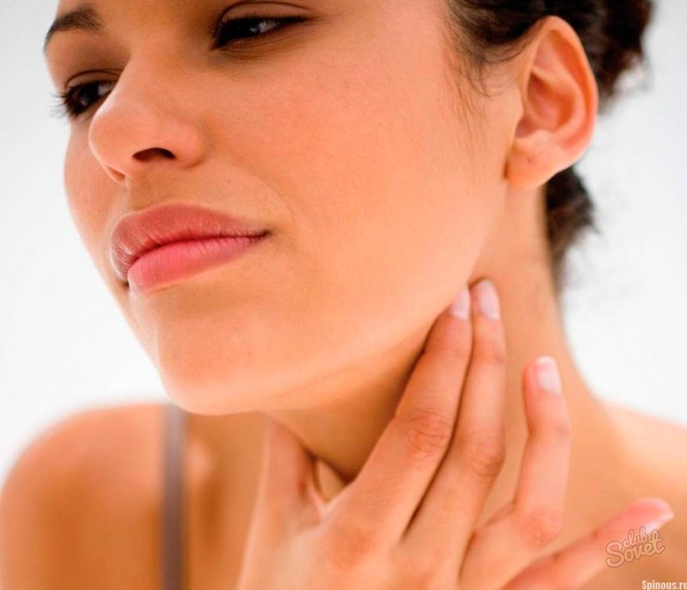 Аллергия и лимфоузлы на шее