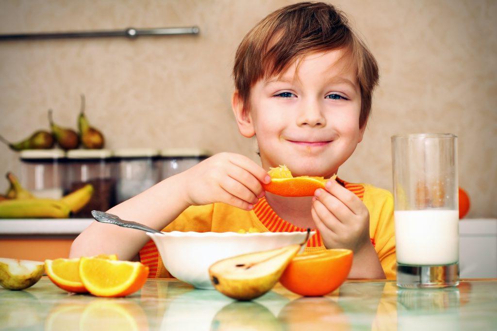 Открытку, картинка завтрака для детей